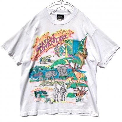 古着 通販 ヴィンテージ 発泡プリント Tシャツ 【1980s】Vintage Foam Print T-Shirt
