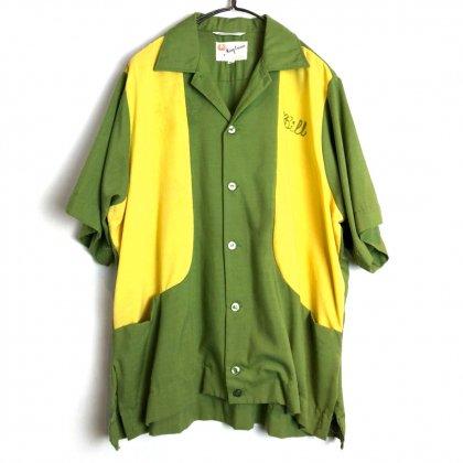 古着 通販 キングルイ【King Louie】ヴィンテージ ボーリングシャツ【1960s-】Vintage Bowling Shirt