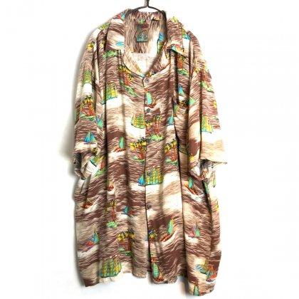 古着 通販 ヴィンテージ レーヨン アロハシャツ【1980s-】【Pineapple Connection】Vintage Rayon Hawaiian Shirt