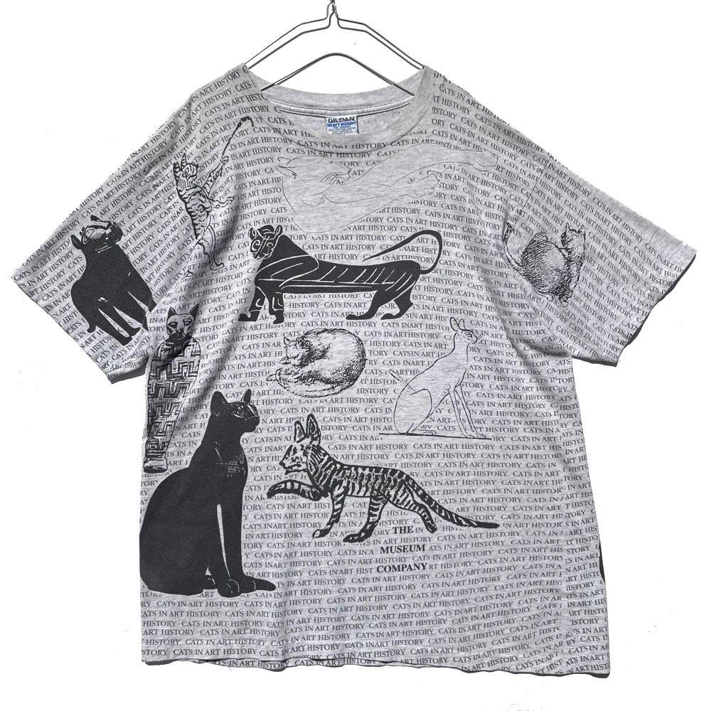 古着 通販 ヴィンテージ 猫プリント Tシャツ【Cat In Art History】【1990s-】Vintage Print T-Shirts