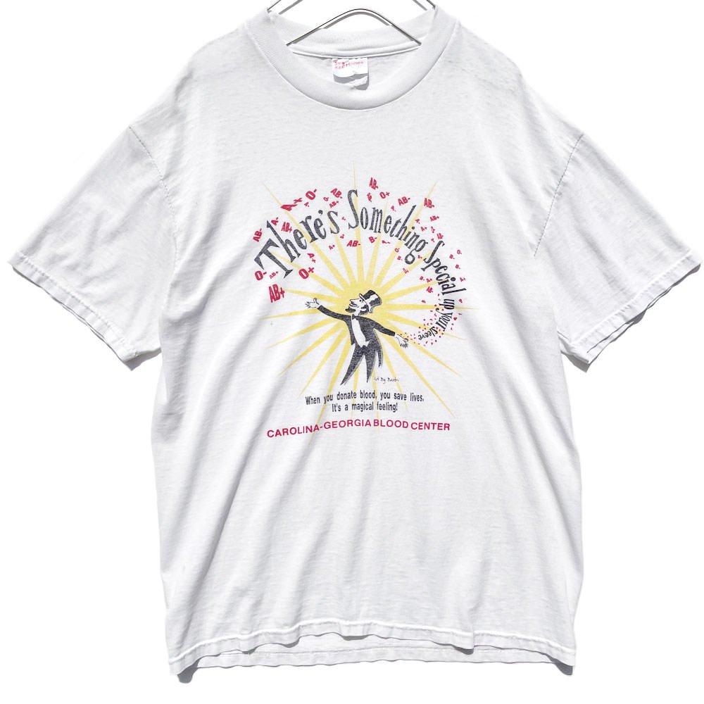 古着 通販 ヴィンテージ プリント Tシャツ【1990's】【Blood Center】Vintage Print T-Shirts