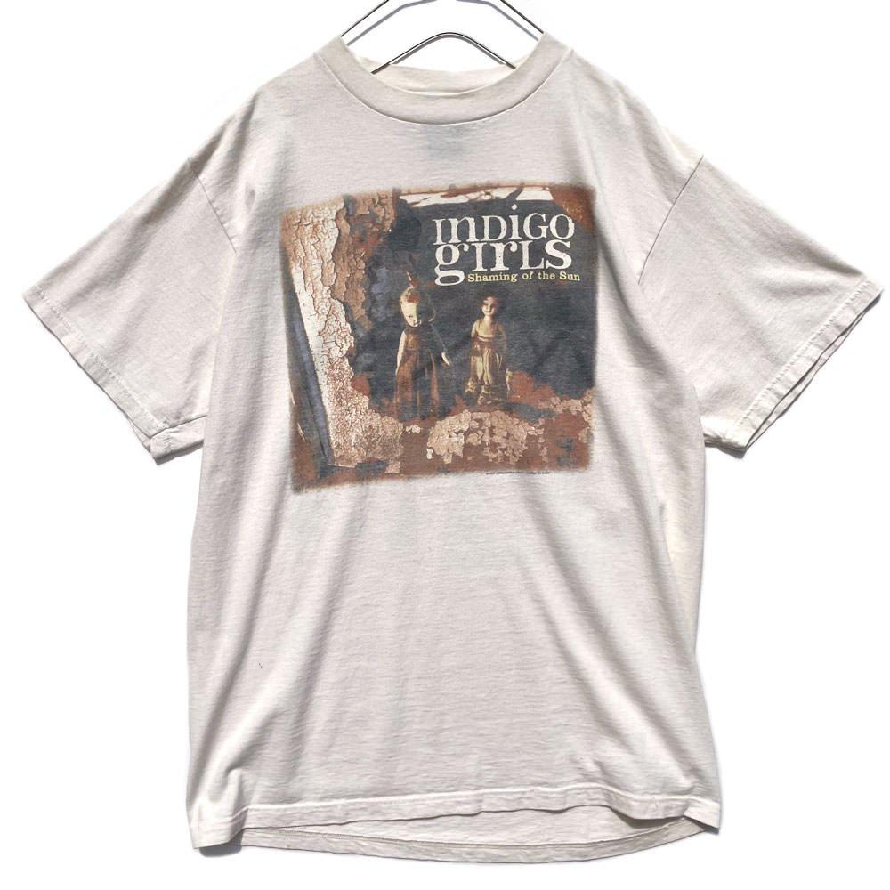 古着 通販 インディゴ・ガールズ【Indigo Girls】【Shaming of the Sun】ヴィンテージ プロモーション Tシャツ【1997's】Vintage Print T-Shirt