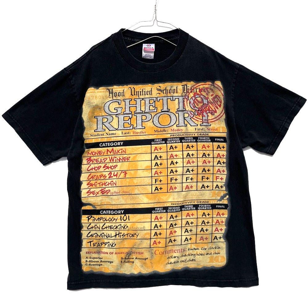古着 通販 【GHETTO REPORT】ヴィンテージ プリント Tシャツ【2000's】Vintage Print T-Shirt