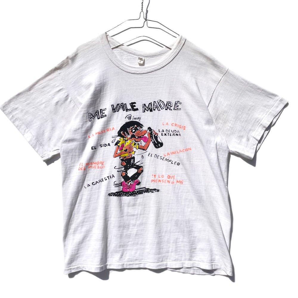 古着 通販 【ME VALE MADRE】ヴィンテージ カートゥーンプリント Tシャツ【1980's-】Vintage Cartoon Print T-Shirt