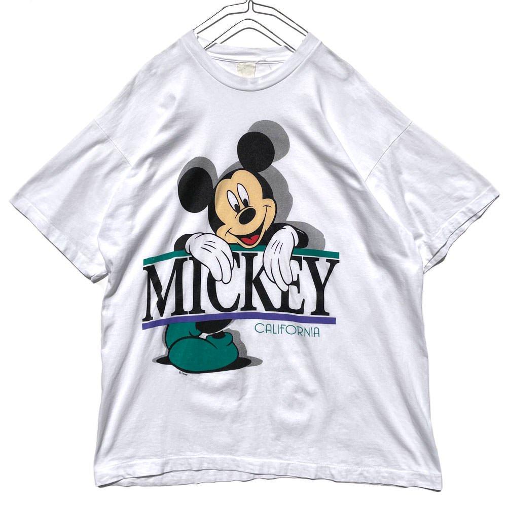 古着 通販 ミッキー【Mickey】ヴィンテージ オフィシャルプリント Tシャツ【1990's-】Vintage Print T-Shirt