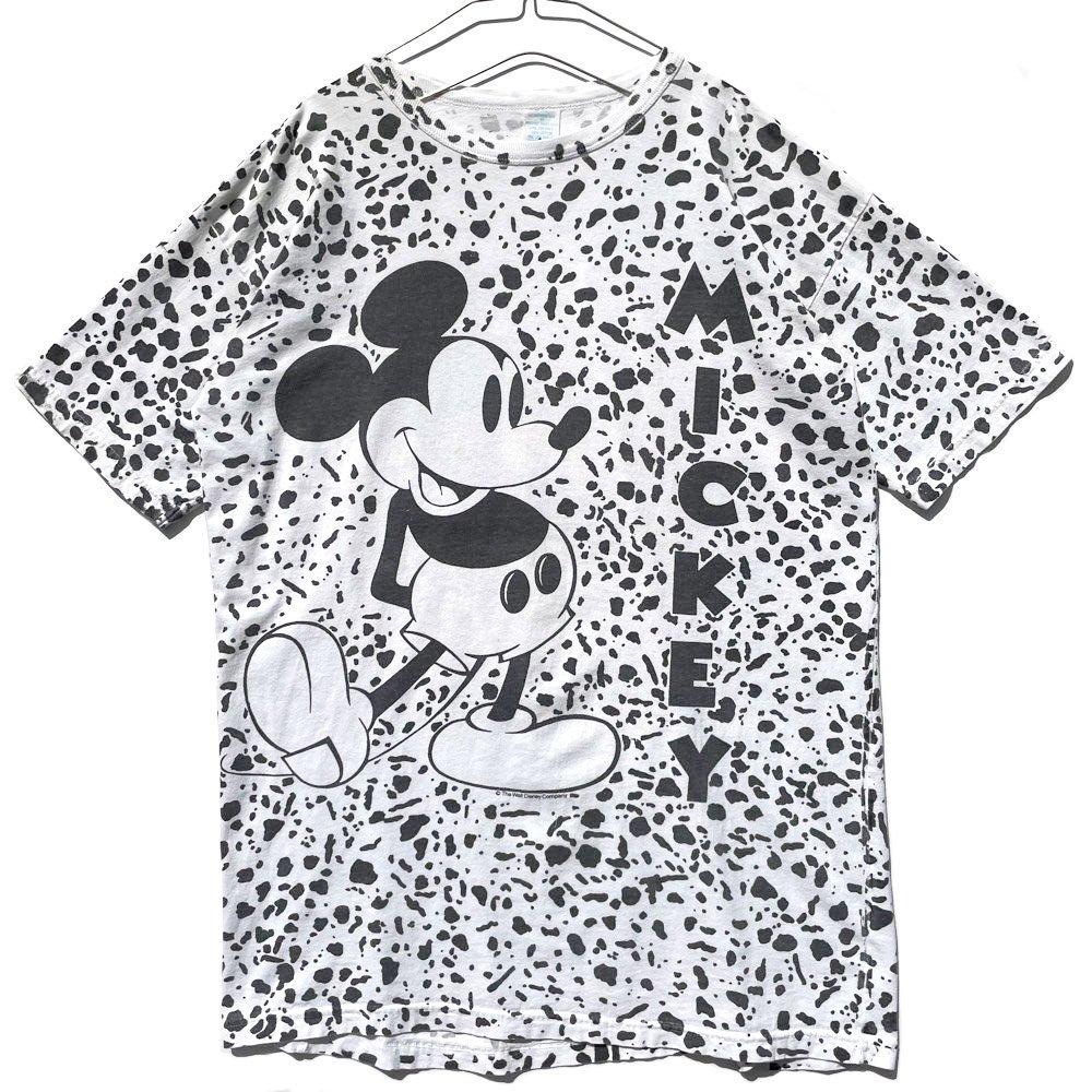 古着 通販 ミッキー【Mickey】ヴィンテージ オールオーバープリント Tシャツ【1990's-】Vintage Print T-Shirt