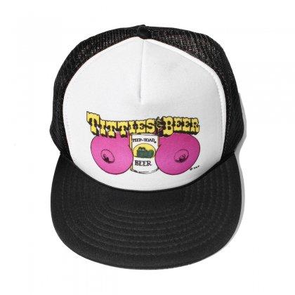 古着 通販 ヴィンテージ メッシュ キャップ【SPEEDWAY】【TITTIES&BEER】【1990s-】BK