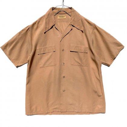 古着 通販 【SPORTCLAD】ヴィンテージ S/S オープンカラー ナイロンシャツ【1940's】Vintage Open Collar Shirts