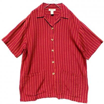 古着 通販 エディバウアー【Eddie Bauer】ヴィンテージ S/S リネン リゾートシャツ【1990's】Vintage Linen Shirts