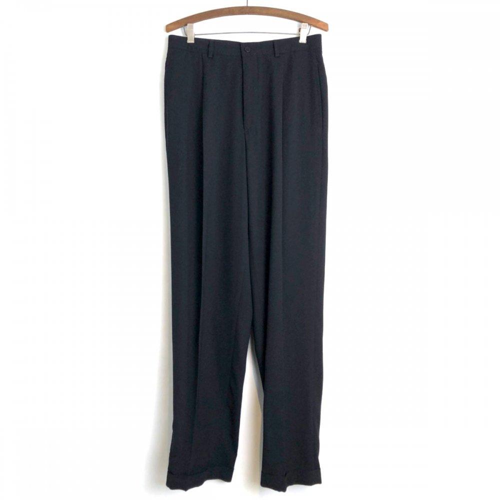 古着 通販 カルバン・クライン【Calvin Klein】ヴィンテージ 1タック テーパードスラックス【1990s-】Vintage 1-tuck Tapered Trouser