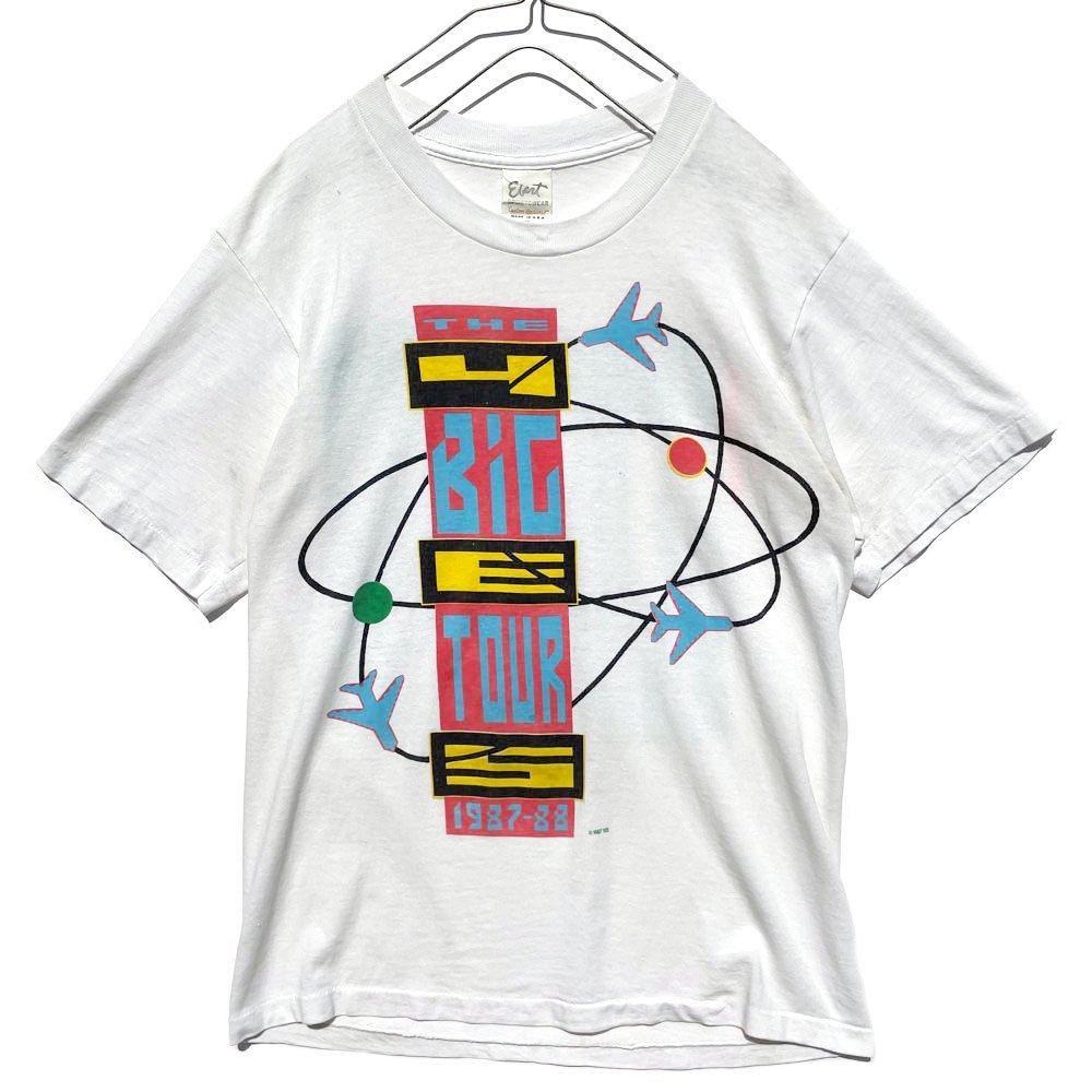 古着 通販 イエス【YES】ヴィンテージ ワールドツアー Tシャツ【1987's-1988's】Vintage BIG Tour T-Shirt