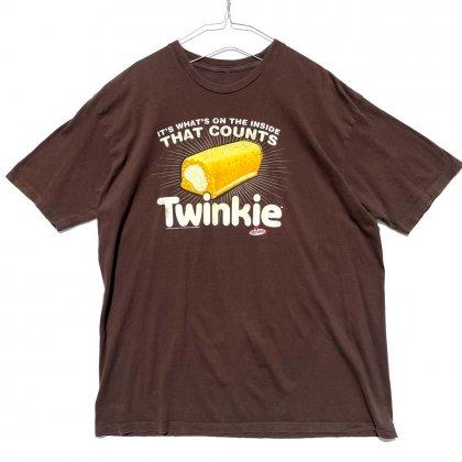 古着 通販 トゥインキー【Twinkie】ヴィンテージ 企業広告プリント Tシャツ【2010's】Vintage Company Logo Print T-Shirt