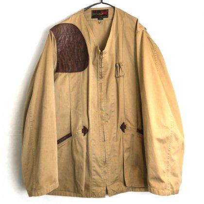 古着 通販 ヴィンテージ ハンティング  ジャケット【1960's】【10-X】Vintage Collarless Hunting Jacket