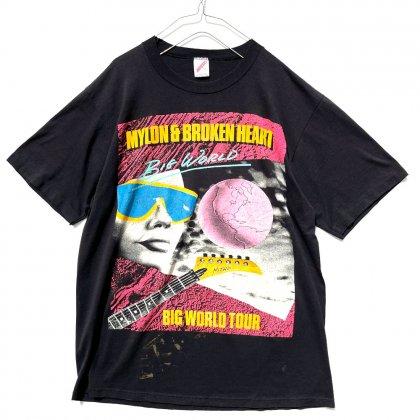 古着 通販 【Mylon & Broken Heart】ヴィンテージ ワールドツアーTシャツ【1989's】Vintage Big World Tour T-Shirt
