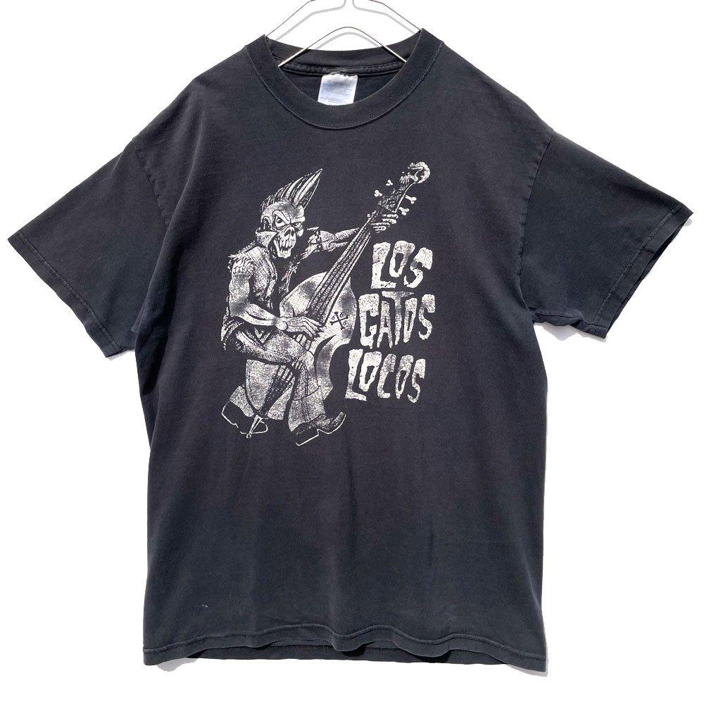 古着 通販 【LOS GATOS LOCOS】ヴィンテージ プロモーション Tシャツ サイコビリー【1997's】Vintage Promotion T-Shirt