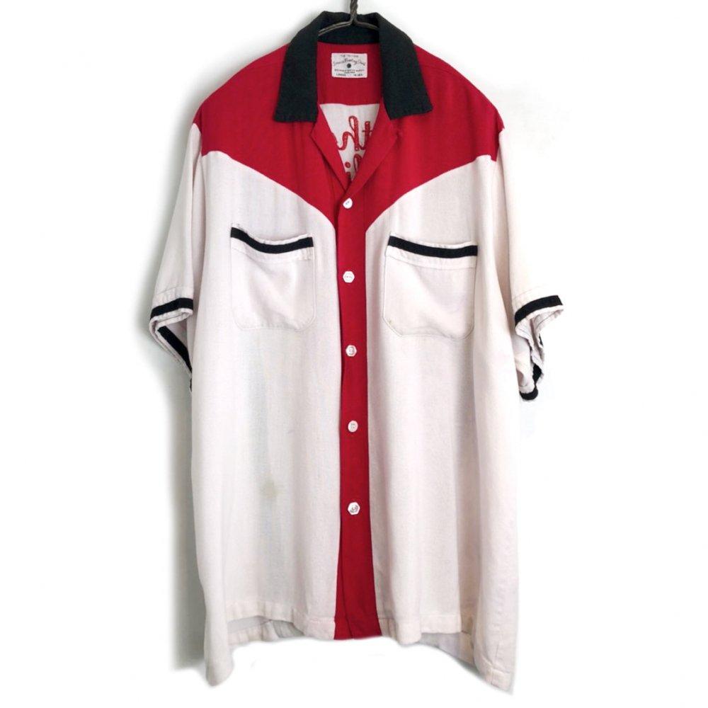 古着 通販 ヴィンテージ レーヨン ボーリングシャツ【1960's】【Service Bowling Shirt】Vintage Bowling Shirt
