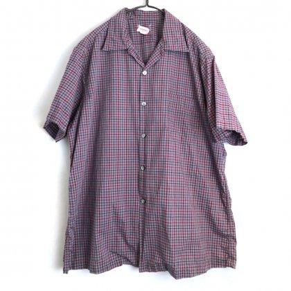 古着 通販 ヴィンテージ S/S オープンカラーシャツ【1960's-】【SAKS FIFTH AVENUE】Vintage Short Sleeve  Open Collar Shirt