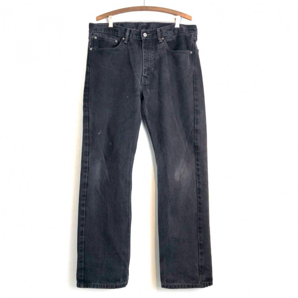 古着 通販 リーバイス 505 ブラック【Levis 505】 Black Denim Pants