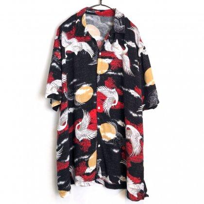 古着 通販 ヴィンテージ S/S レーヨンシャツ 和柄【1990's-】Vintage Short Sleeve Rayon Shirt