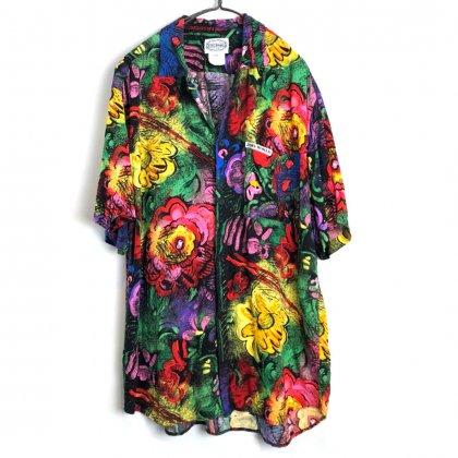 古着 通販 ジャムズワールド【Jams World】ヴィンテージ レーヨン アロハシャツ【1990's】Vintage Rayon Hawaiian Shirt