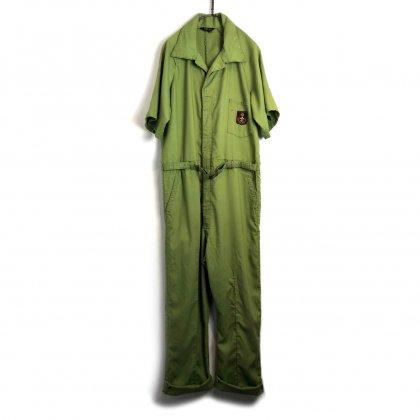 古着 通販 ヴィンテージ S/S オールインワン ジャンプスーツ【1970's】【CaPeR Alls】Vintage Short Sleeve Jumpsuits