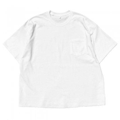 古着 通販 ピンプスティック【pimpstick】リメイク S/S ビッグシルエット Tシャツ WH