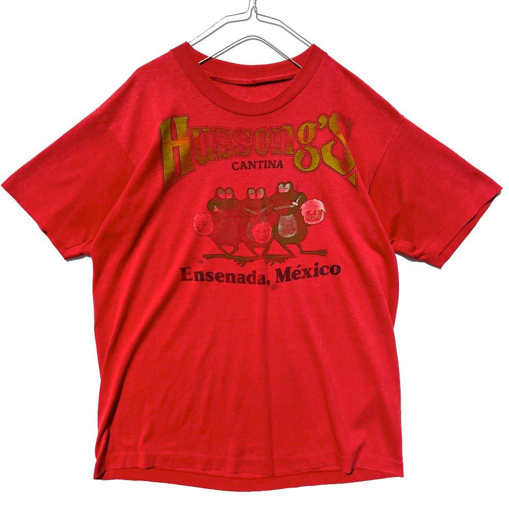 古着 通販 【Hussong's Cantina】ヴィンテージ カンティーナ スーベニア Tシャツ【1980's-】Vintage Cantina Souvenir T-Shirt