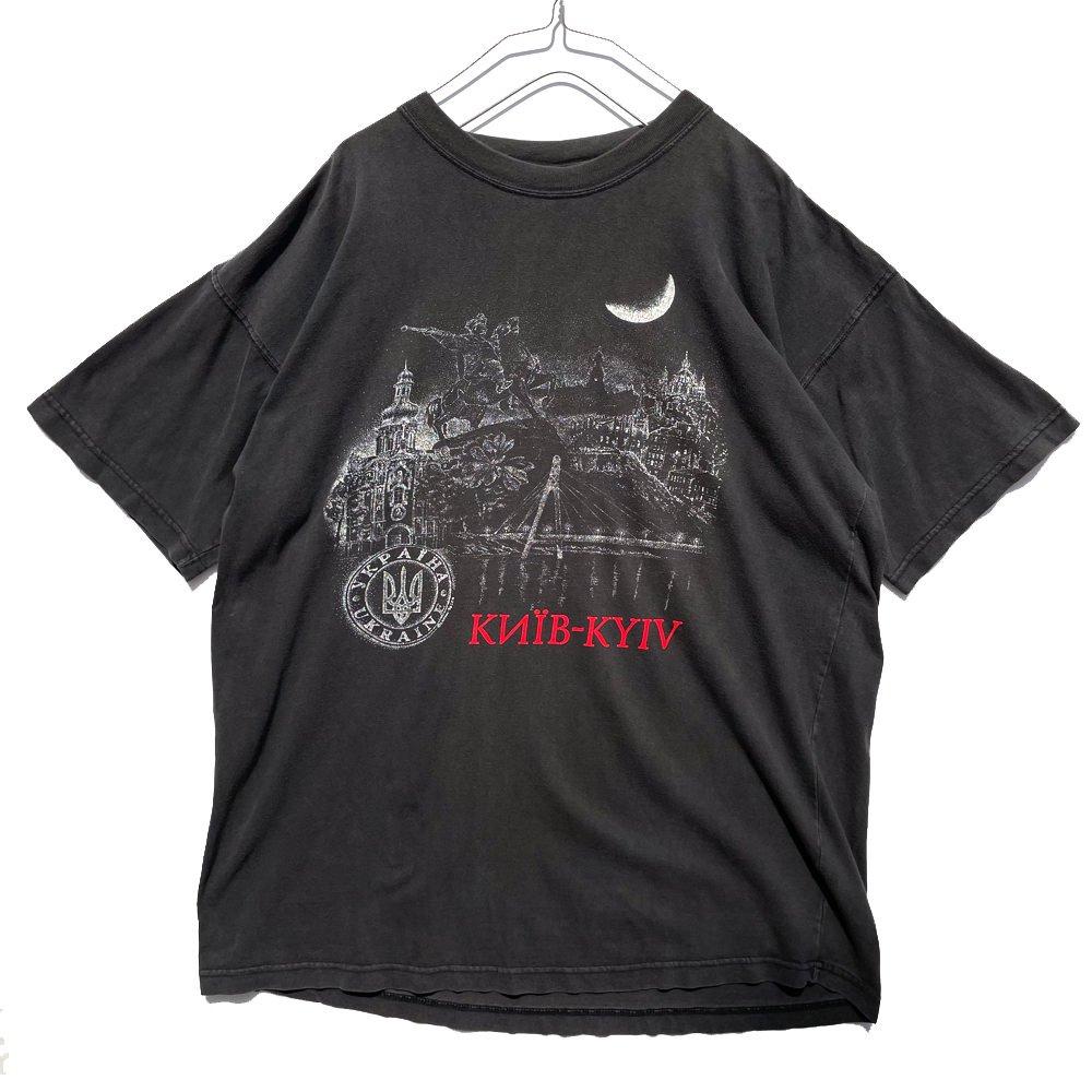 古着 通販 【Ukraine】ヴィンテージ スーベニア Tシャツ【1990's-】Vintage Souvenir T-Shirt