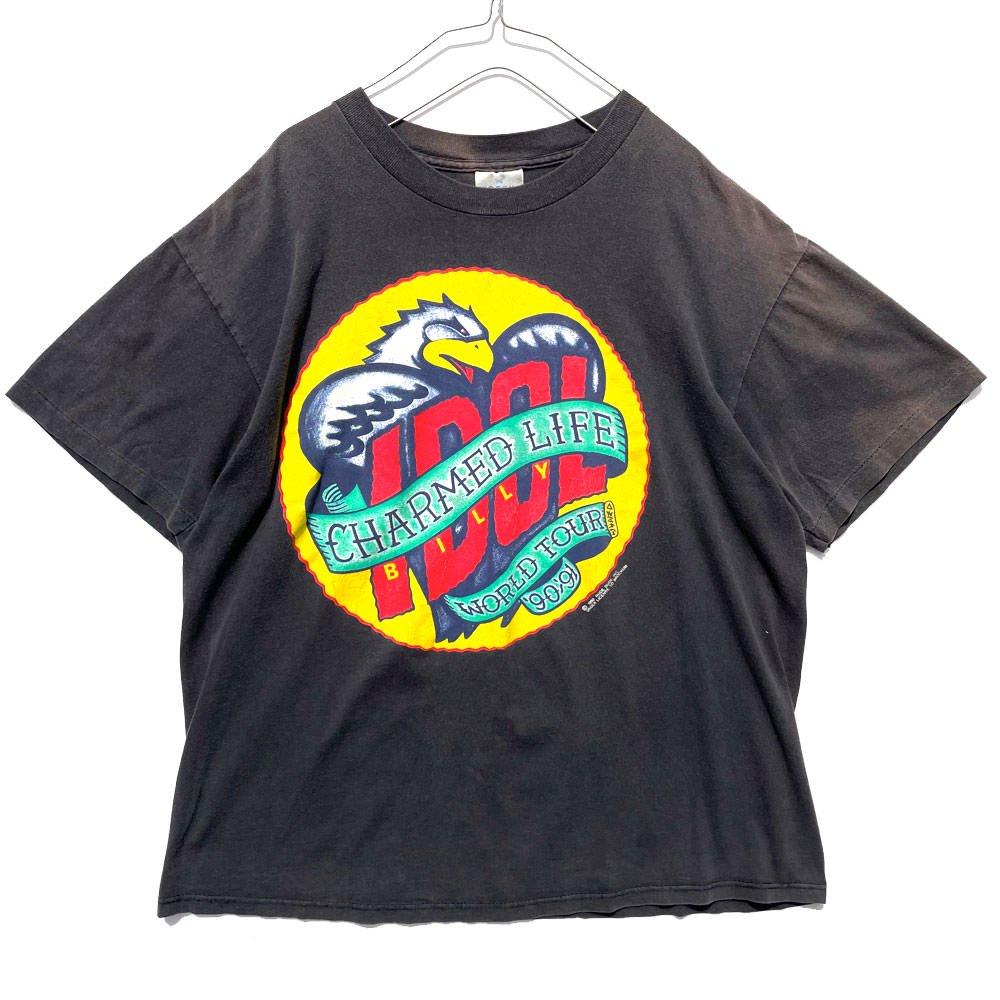 古着 通販 ビリー アイドル【Billy Idol】ヴィンテージ ワールドツアー Tシャツ【1990's】Vintage World Tour T-Shirt