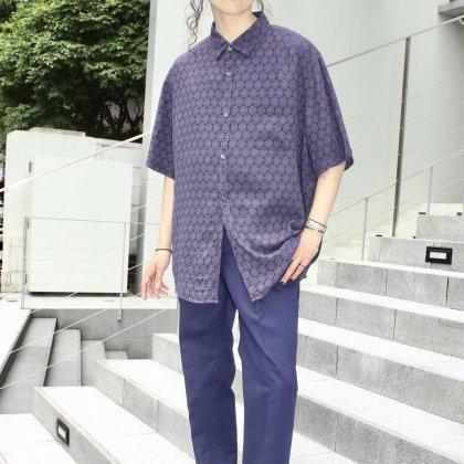 古着 通販 80'S Art Print Shirts Style with ALVISTA ROYAL MARINE TROUSER