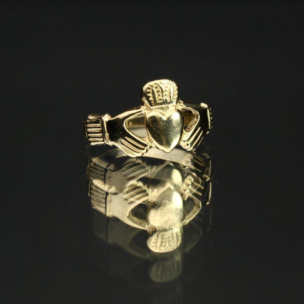 古着 通販 ヴィンテージ クラダーリング ゴールド【14kt Gold】Vintage Claddagh Ring