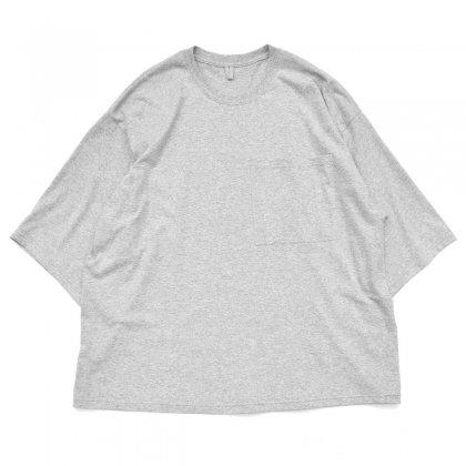 古着 通販 ピンプスティック【pimpstick】リメイク S/S ビッグシルエット ワイドスリーブ Tシャツ GR