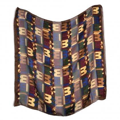 古着 通販 ヴィンテージ シルク スカーフ【1980's】【Bill Blass】Vintage All Silk Scarf