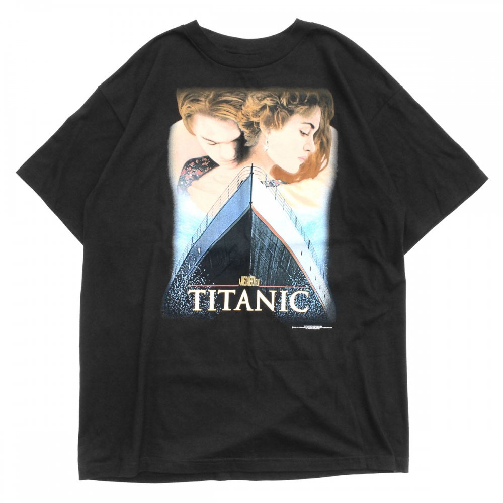 古着 通販 タイタニック ヴィンテージ T シャツ【TITANIC】【1998's-】Movie Promo