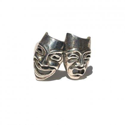 古着 通販 ヴィンテージ トゥーフェイス シルバーリング【925 - STERLING】Vintage Two-Face Silver Ring