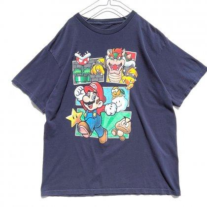 古着 通販 スーパー マリオブラザーズ【NINTENDO】ヴィンテージ プロモーション Tシャツ【2011's】Vintage Promotion T-Shirt