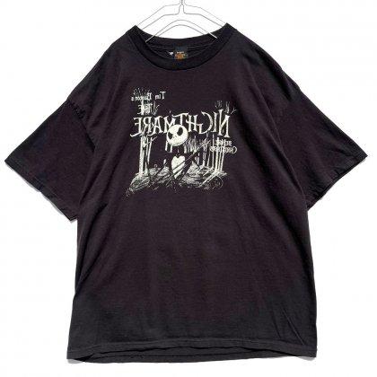 古着 通販 ナイトメアー・ビフォア・クリスマス【The Nightmare Before Christmas】プリント Tシャツ【Jack Skellington】Print T-Shirt