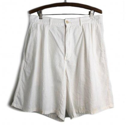 古着 通販 ポロ ラルフローレン【Polo by Ralph Lauren】ヴィンテージ 2タック リネンショーツ【1990's】Vintage 2tuck Chino Shorts