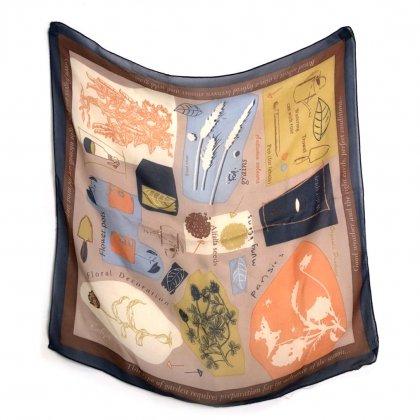 古着 通販 ヴィンテージ シルクスカーフ【1970s-】Vintage ALL Silk Scarf