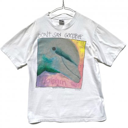 古着 通販 【FABRIC ART】ヴィンテージ アートプリント Tシャツ 【1990's-】Vintage Art Print T-Shirt