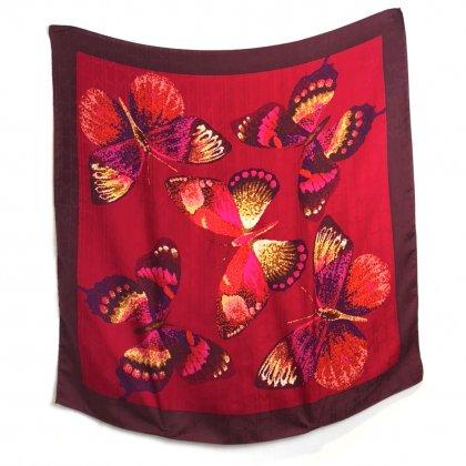 古着 通販 ヴィンテージ シルクスカーフ【1980s-】【Hanae Mori】Vintage ALL Silk Scarf