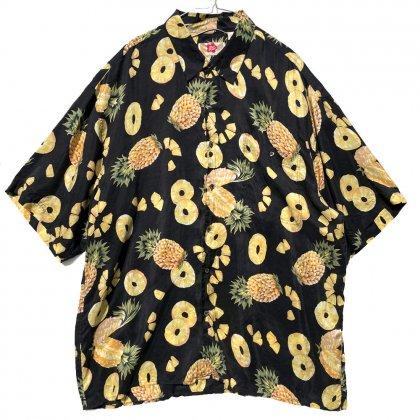 古着 通販 【Hilo Hattie】ヴィンテージ シルク アロハシャツ【1990's】Vintage Hawaiian Shirt
