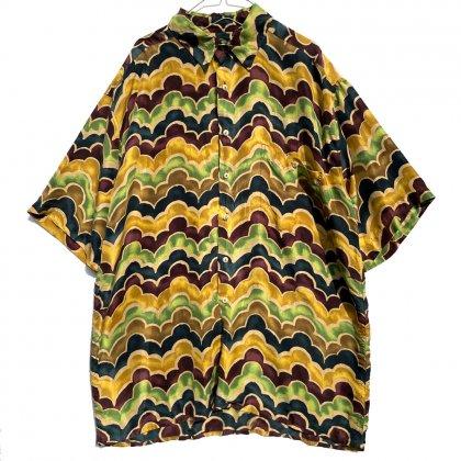 古着 通販 ヴィンテージ ビッグシルエット シルクシャツ【1990's】【BURMA BIBAS】Vintage Silk Shirt
