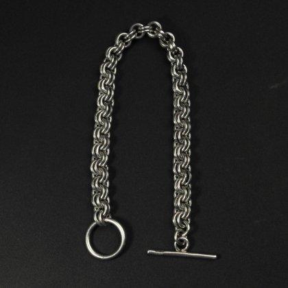 古着 通販 ヴィンテージ シルバー ヘヴィー チェーン ブレスレット【925 STERLING】Roll chain