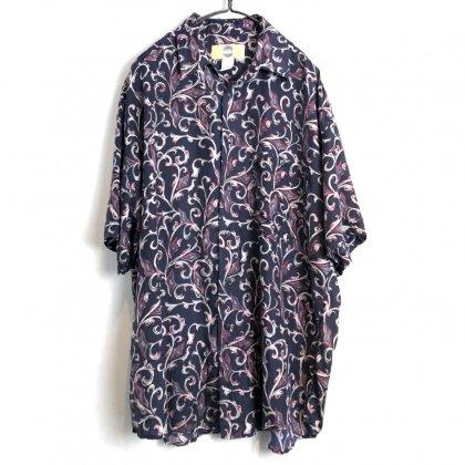 古着 通販 ヴィンテージ S/S シルクシャツ【1980's-】【SILK UOMO】Vintage Short Sleeve Silk Shirt