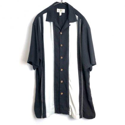 古着 通販 ヴィンテージ S/S シルクシャツ【1980's】【Island Shores】Vintage Short Sleeve Silk Shirt