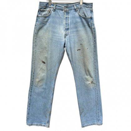 古着 通販 リーバイス 501【Levis 501-0193 Made in USA】Vintage Denim Pants W-36 L-32