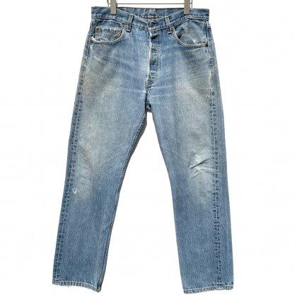 古着 通販 リーバイス 501【Levis 501-0118 Made in USA】【1990's】Vintage Denim Pants W-33 L-32
