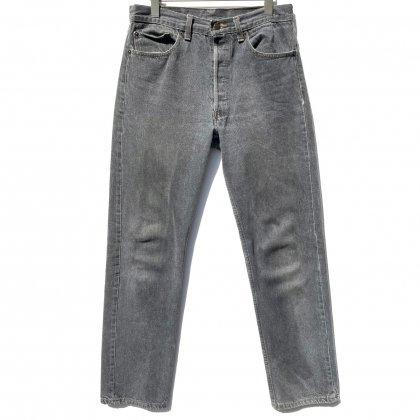 古着 通販 リーバイス 501 ブラック 先染め【Levis 501-0658 Made in USA】【1980's】Vintage Black Denim Pants W-32 L-32