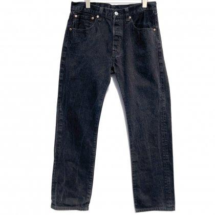 古着 通販 リーバイス 501 ブラック【Levis 501-0660 Made in Egypt】Vintage Black Denim Pants W-32 L-32